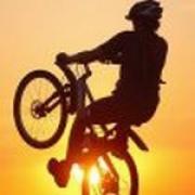 Урок велотриала в Курске - экстремальные развлечения